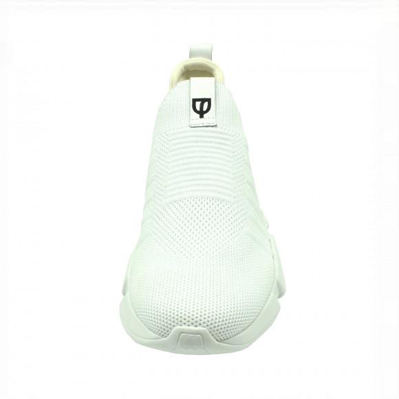 Tênis Knit Branco